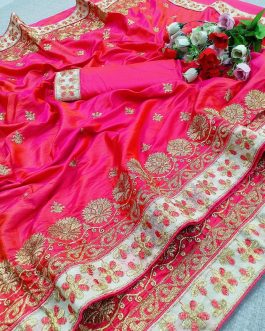 Embroidered Pure Sil...