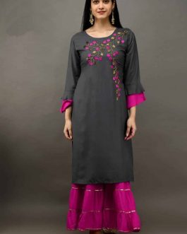 Velly Embroidered Ch...