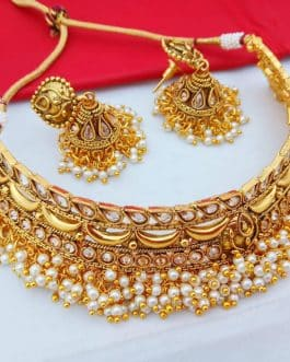Gold Plated Moti Wor...
